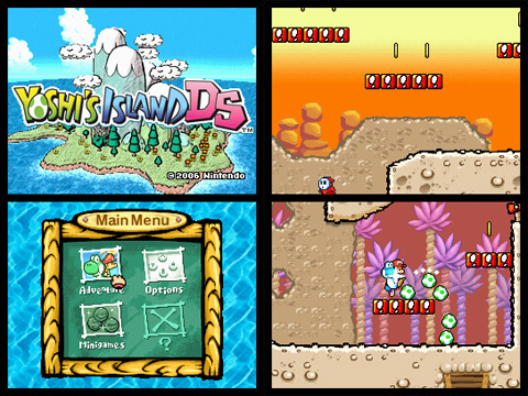 YOSHI'S ISLAND DS - How many WORLDS are there?