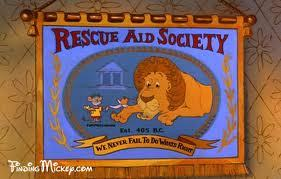 """In the movie the Rescuers, who is apart of the """"Rescue Aid Society""""?"""