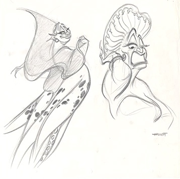 This Concept art is of which disney Princess Villain?