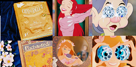 Those are screencaps of which movies compared to Enchanted's screencaps? (From left to right)