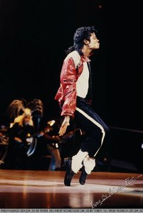 Who accompanied Michael Jackson at the show, concerto in Switzerland (Bad Era)?
