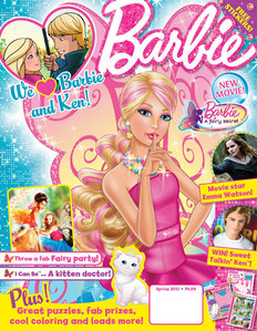 How many times a year Barbie mag is publishing?