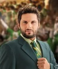 what is Shahid Afridi's favourite music band????