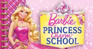 The first words in the Movie Princess charm school is: