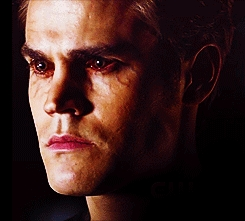 """""""I don't need any of you. I don't want you with me, and I don't want you following me. Anyone who does follow me, I'll kill."""" stefan said this to"""