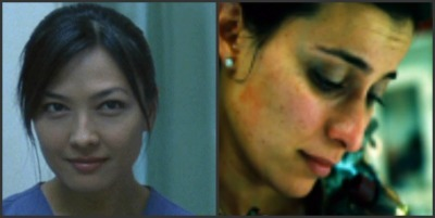 "What hit show on CBS did both Carla ""Saw"" & Lynn ""Saw III"" guest starred on?"
