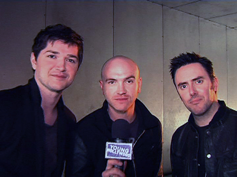 Wich Award did The Script won at the World Music Awards in November 9, 2008 ?