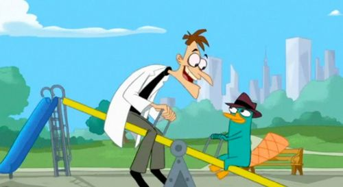 Who is Doofenshmirtz to Perry?