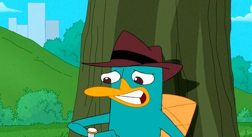 Perry's voice actor?