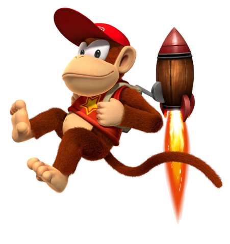 How Dose Diddy Kong Fight King K.Rool?