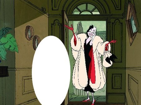 Who is with Cruella in this picture ?
