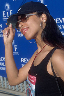 T/F: Aaliyah was going to launch her own fashion line.
