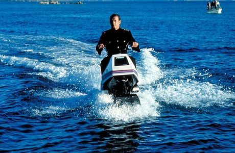 Name the bond movie with a jet sky