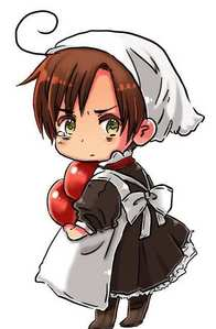 As a child, romano caught the...