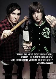 Whats the connection:Josh Franceschi(You Me At Six) and Oli Sykes(Bring Me The Horizon)