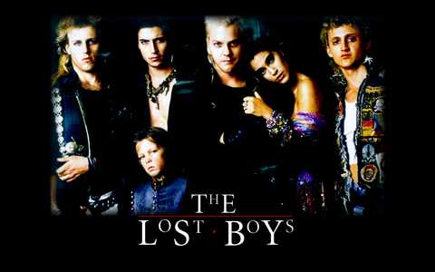 Who were the half-vampires in The Lost Boys?