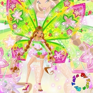 i have hidden this winx girl's name द्वारा cropping it.who is it and which transformation she is in?