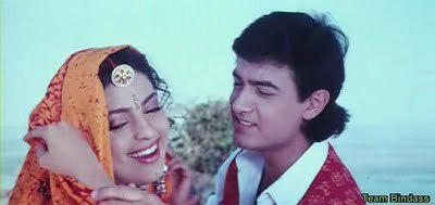 Which Aamir-Juhi movie is this scene from?