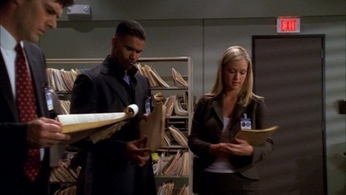 In 1x06 LDSK Elle says the unsub is a sniper, Morgan says we don't call them snipers, Hotch adds: