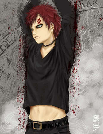 who brings gaara out of the darkness???