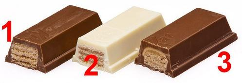 Which version of KitKat is number 1?