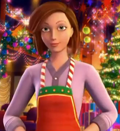 Who is voiced of Christie in Perfect Christmas?