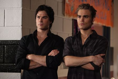 """Who said this-""""I`ll do whatever it is you need me to do, Elena. No one`s going to hurt you. Especially not my brother."""""""