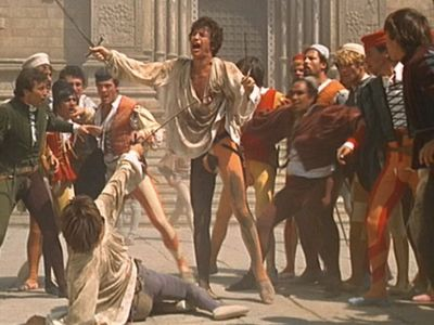 Other than to save his own life, why did Romeo kill Tybalt in the sword fight?