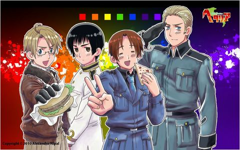 Which hetalia character is my favorite? *lol, random characters added here*