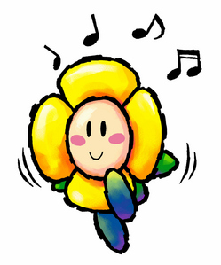 NAME IT! - This anthropomorphic flower is a common enemy in the Yoshi series