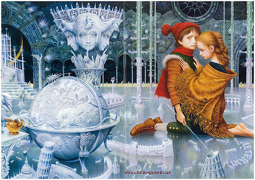 THE SNOW reyna - The tale centers on the struggle between good and evil as experienced sa pamamagitan ng a little boy and girl named...
