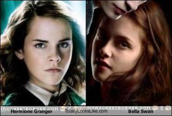 hermione and bella b'days are in same month?