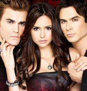 What is the portuguese name for the TV show The Vampire Diaries?