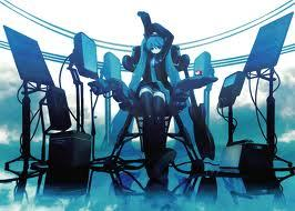 What Hatsune Miku song was broadcast on the streets of Tokyo?