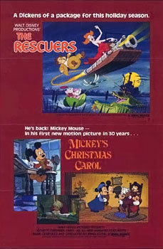 What year was Mickey's Christmas Carol released?