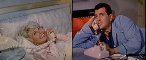 SCENE IT! - Playboy composer Rock Hudson and interior-decorator Doris Day are obliged to share a telephone party line