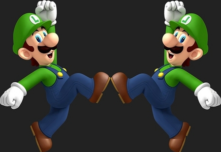 who does luigi inlove with