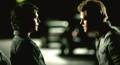 """""""You kill Andi one day, save my day the next. What are you, good,bad? Pick one!"""" Damon to Stefan in-?"""""""