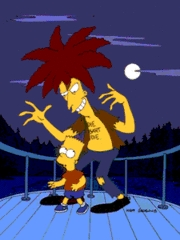 Sideshow Bob considers Bart as his only arche nemesis?