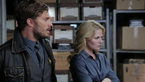When is the first time we see Emma refer to the Sheriff as just Graham?