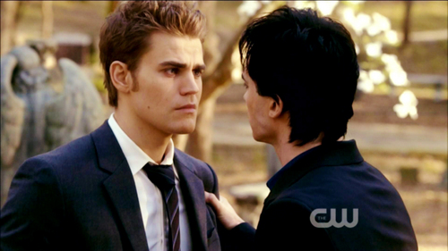"""You want to do something for me? Keep this from Elena. Last thing she needs is another .... to mourn."""