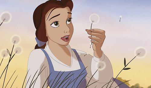 During this scene, what does Belle say that she wants more than anything?