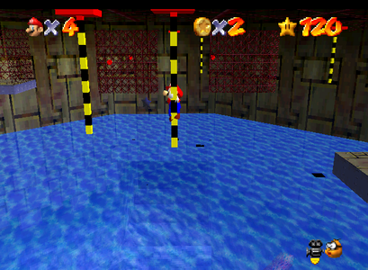 SUPER MARIO 64 - Which course is this scene from?