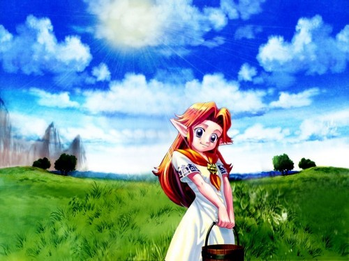 NINTENDO CHARACTERS - She works at Lon Lon Ranch in Hyrule Field and can also be heard singing Epona's Song