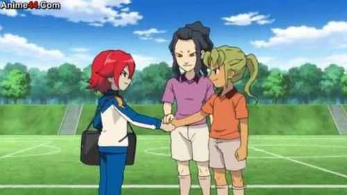 In which episode was Hiroto re-united with Midorikawa,Saginuma and Coach Hitomiko?