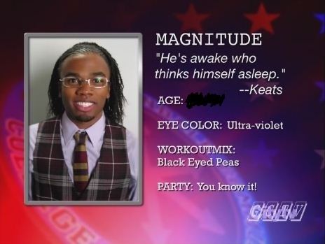 How old is Magnitude?