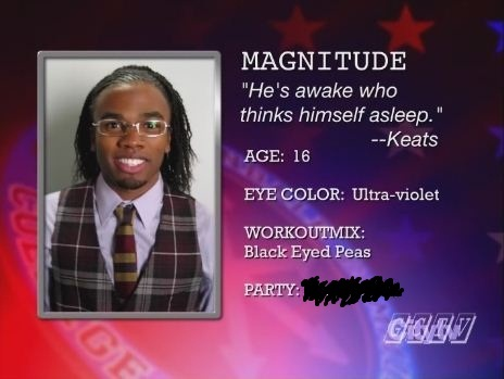 What party does Magnitude represent?