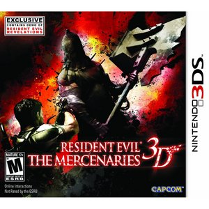 When was Resident Evil: The Mercenaries 3D released?
