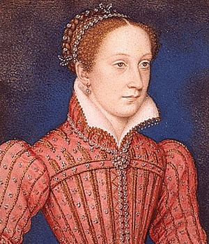 Where was Mary Queen of Scots born?