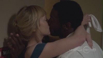 """After this Hardison says: """"Can we talk about that kiss?"""". What did Parker answer?"""